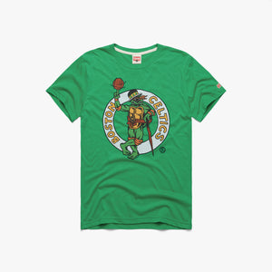 TMNT Michelangelo X Boston Celtics