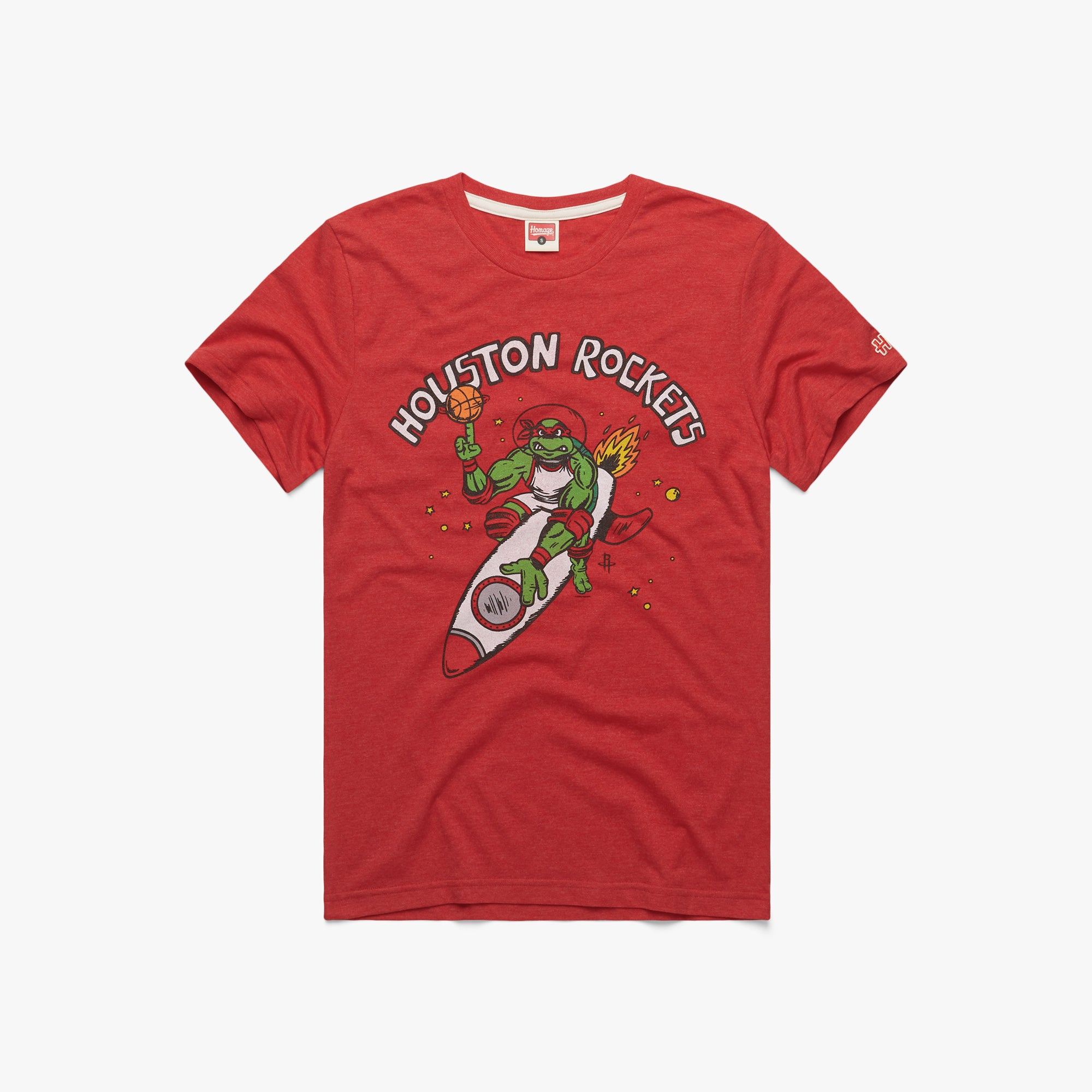 TMNT Raphael X Houston Rockets