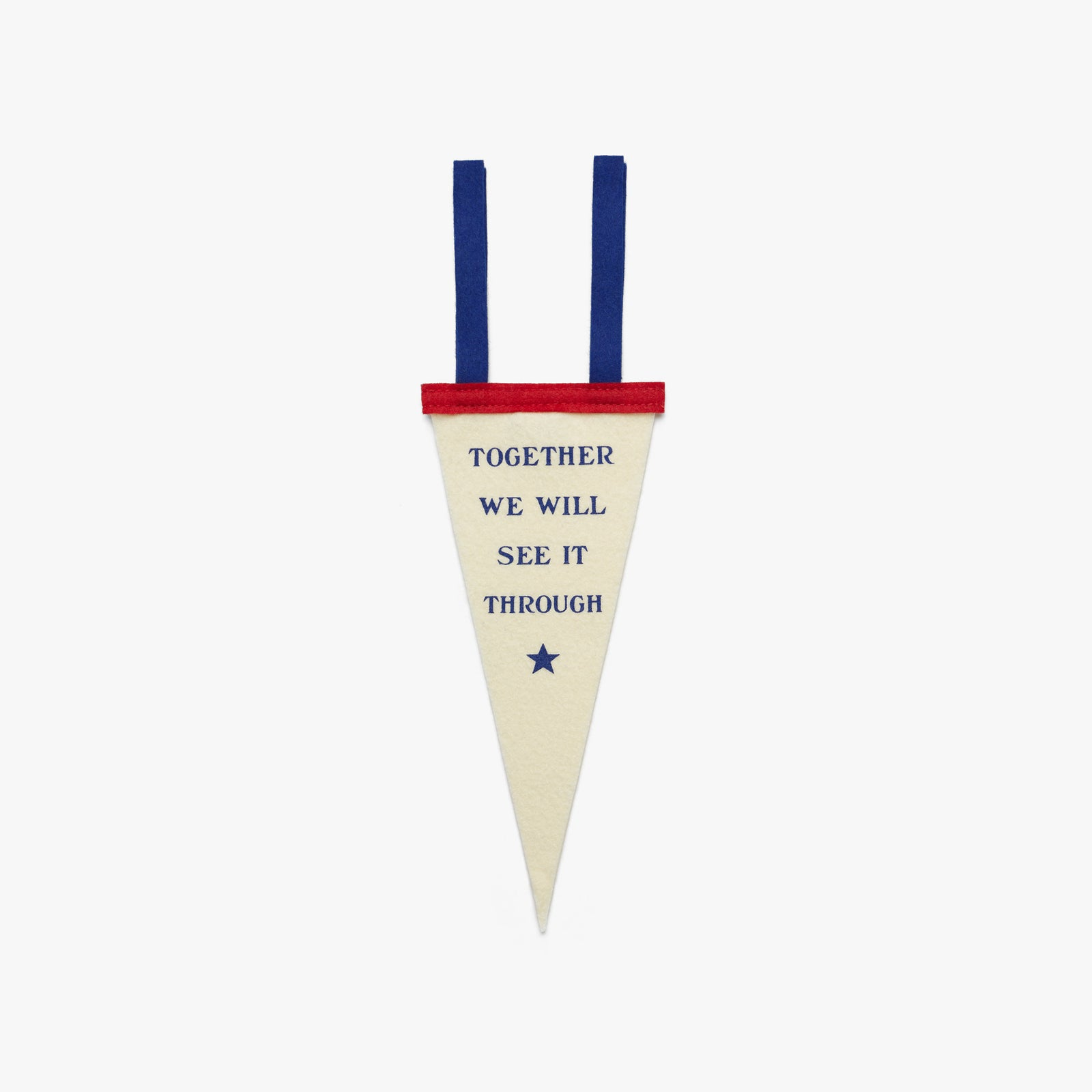 Together We Will See It Through Mini Pennant
