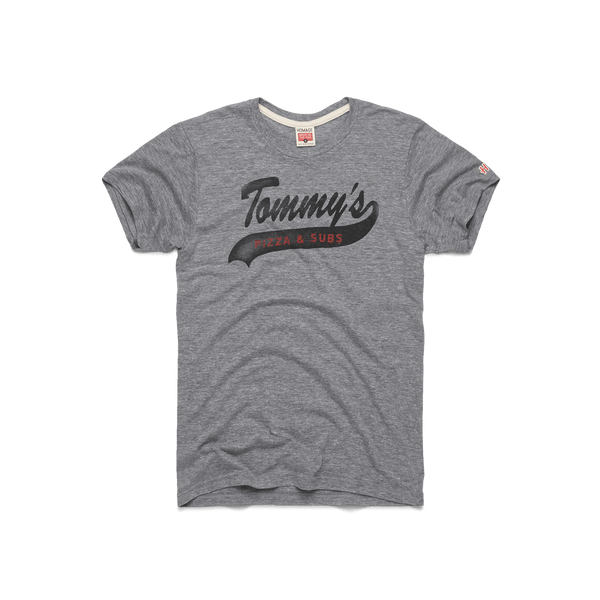 0d3f1502 Tommy's Pizza & Subs Columbus Ohio Campus Restaurant T-Shirt – HOMAGE