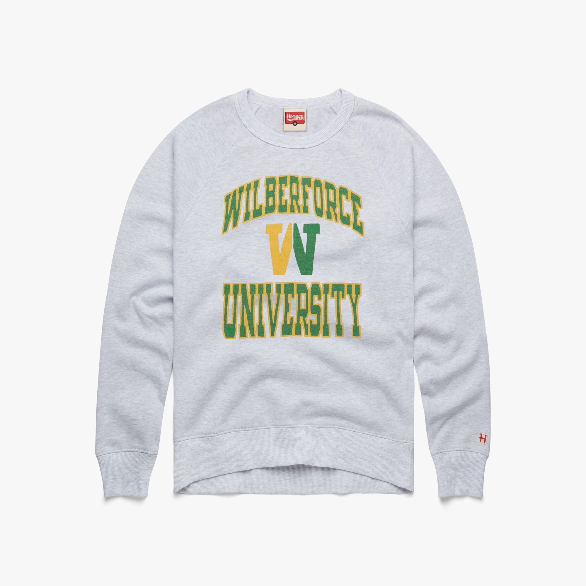 Wilberforce University Block W Crewneck