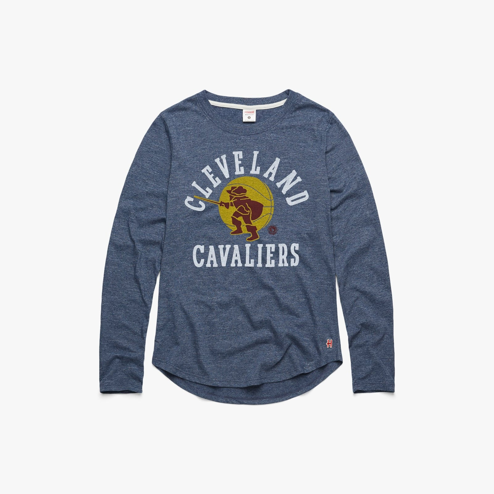 Women's Cavaliers Sir CC Long Sleeve Tee