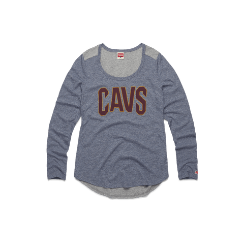 f9172c8fb Cavs Repeat Raglan Cleveland Cavaliers Basketball T-Shirt – HOMAGE
