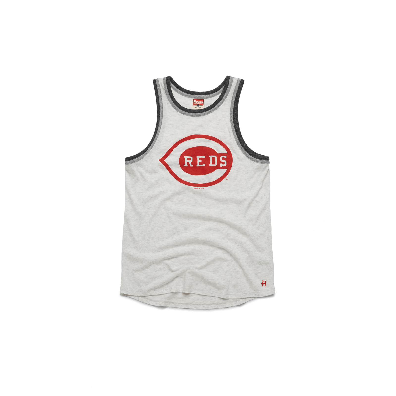 Women's Cincinnati Reds Logo Tank Top