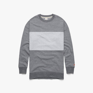 Women's Go-To Stripe Long Crewneck