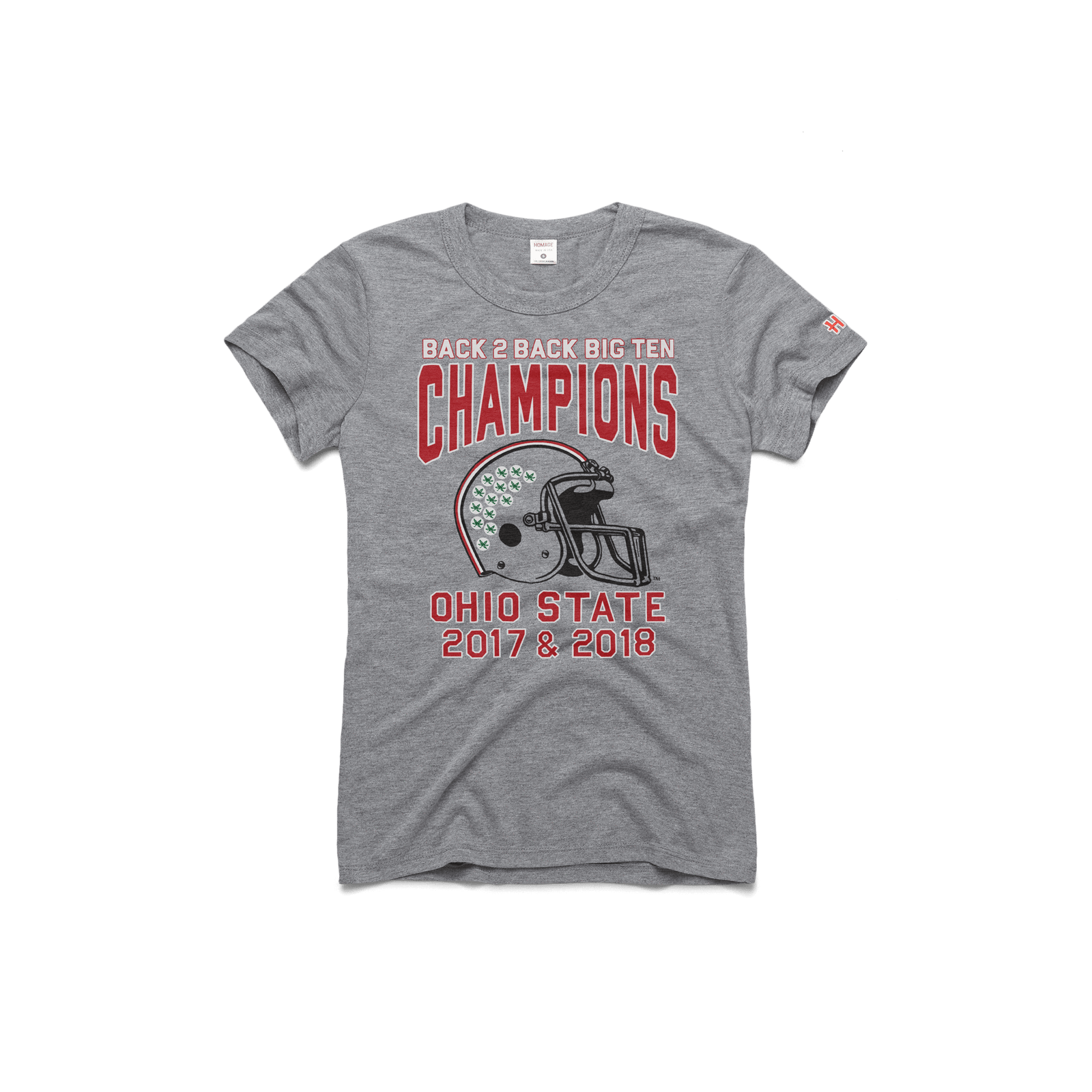 Women's OSU 2018 Big Ten Champions Vintage Tee