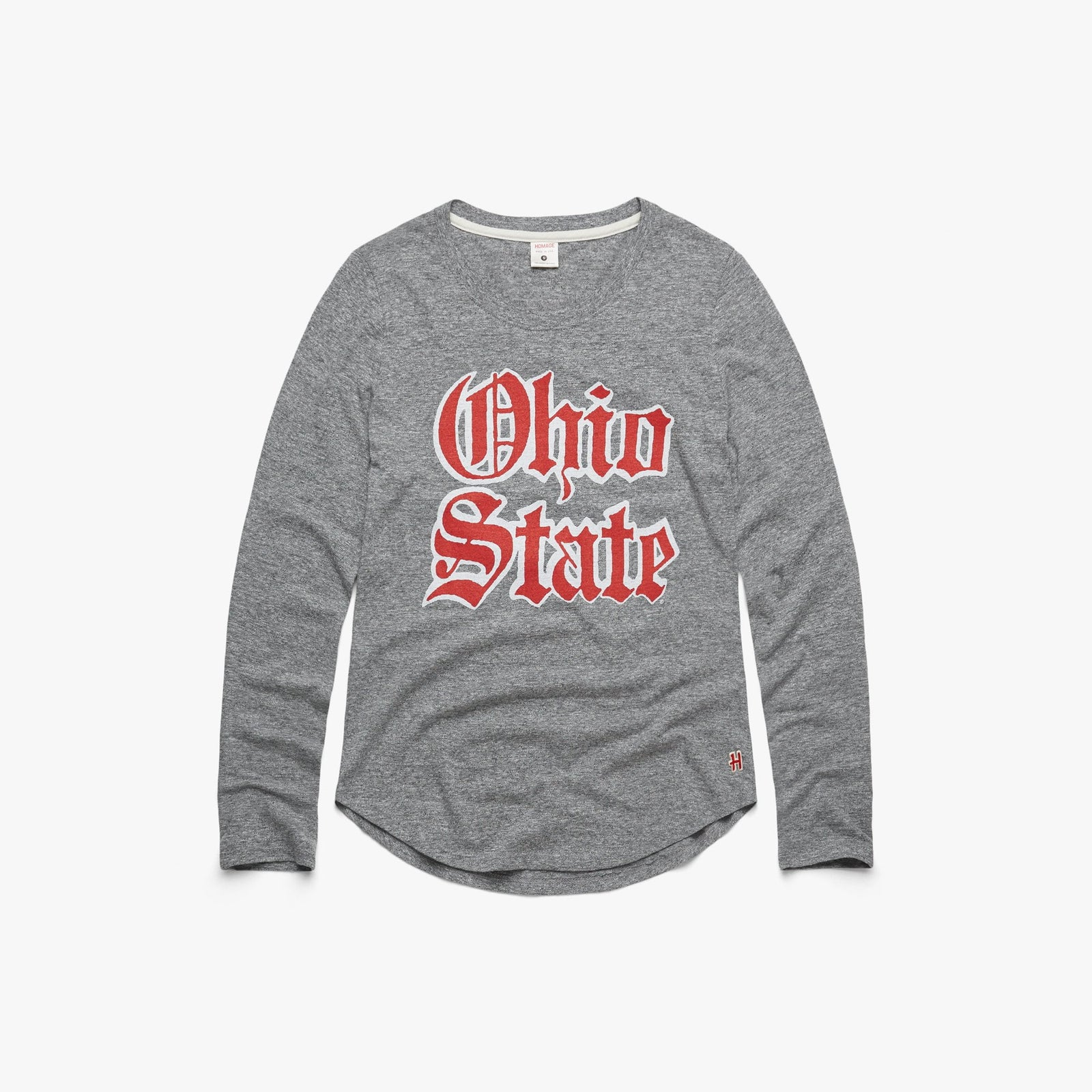 Women's OSU Olde English Long Sleeve Tee