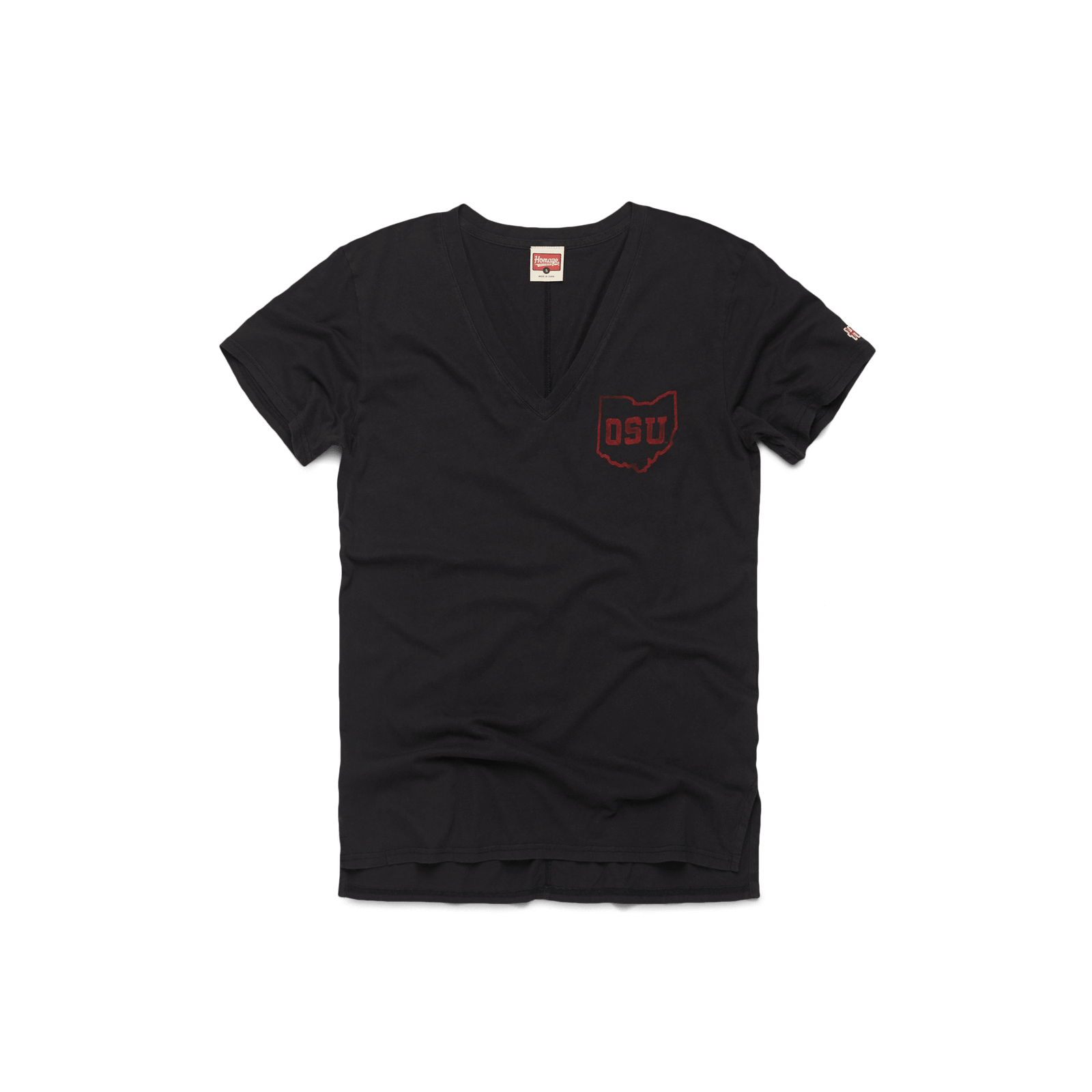 Women's THE OSU Garment Dyed V-Neck