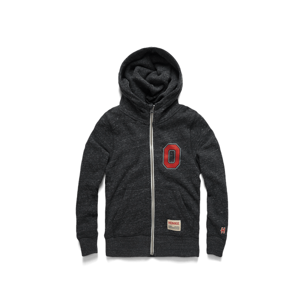 Youth Block O Zip Hoodie