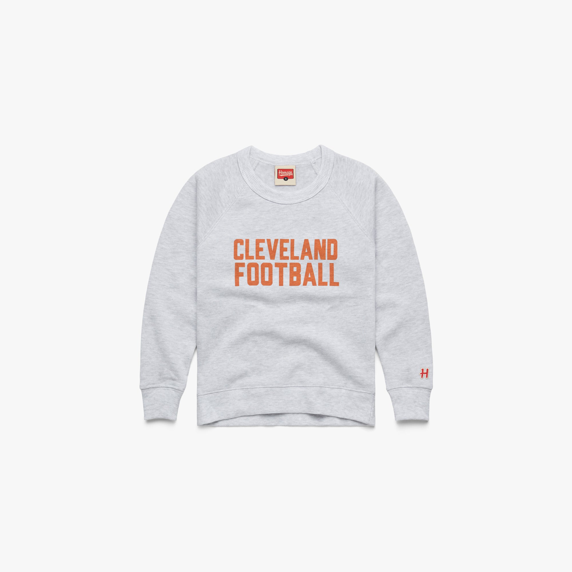 Youth Cleveland Football Crewneck