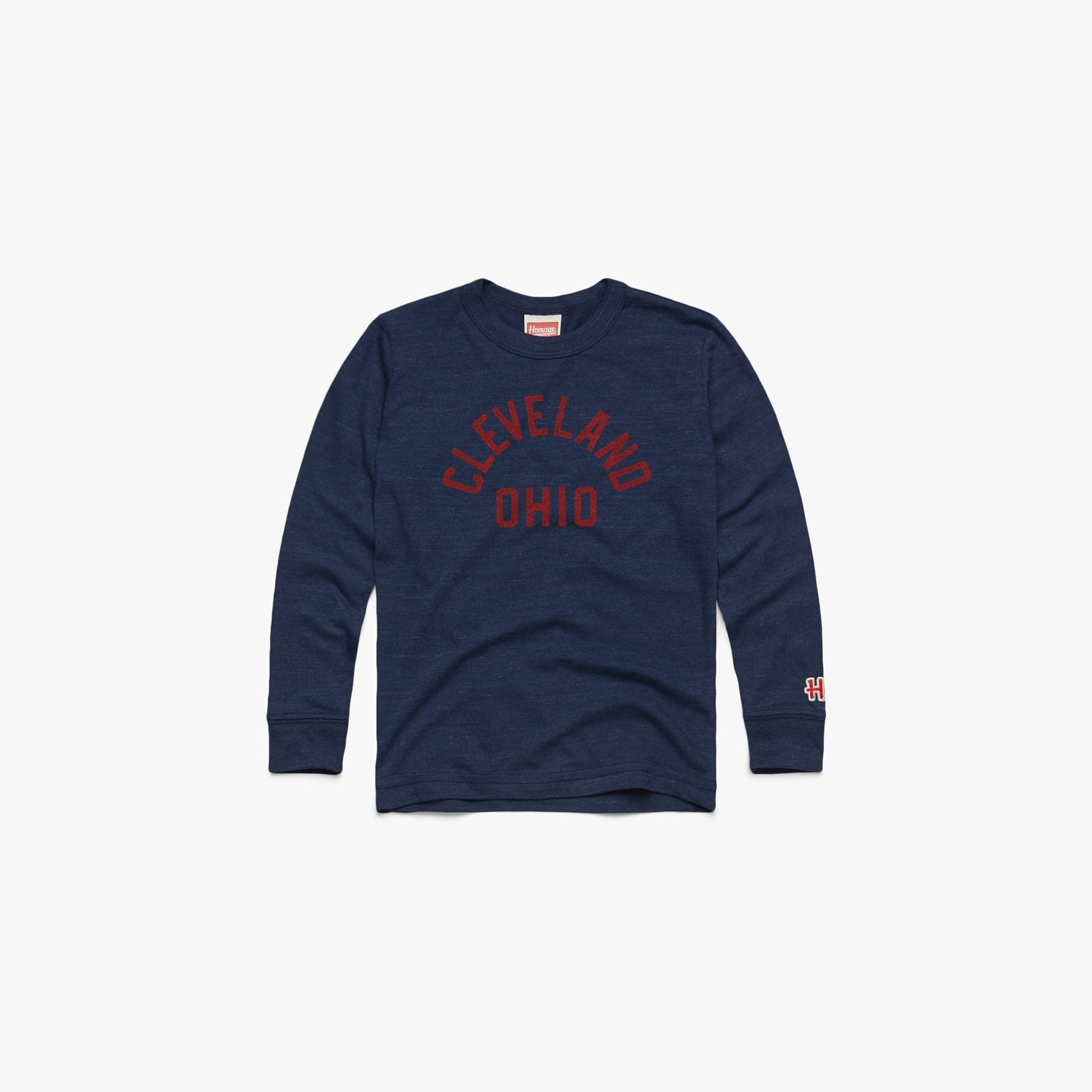 Youth Cleveland Ohio Long Sleeve Tee