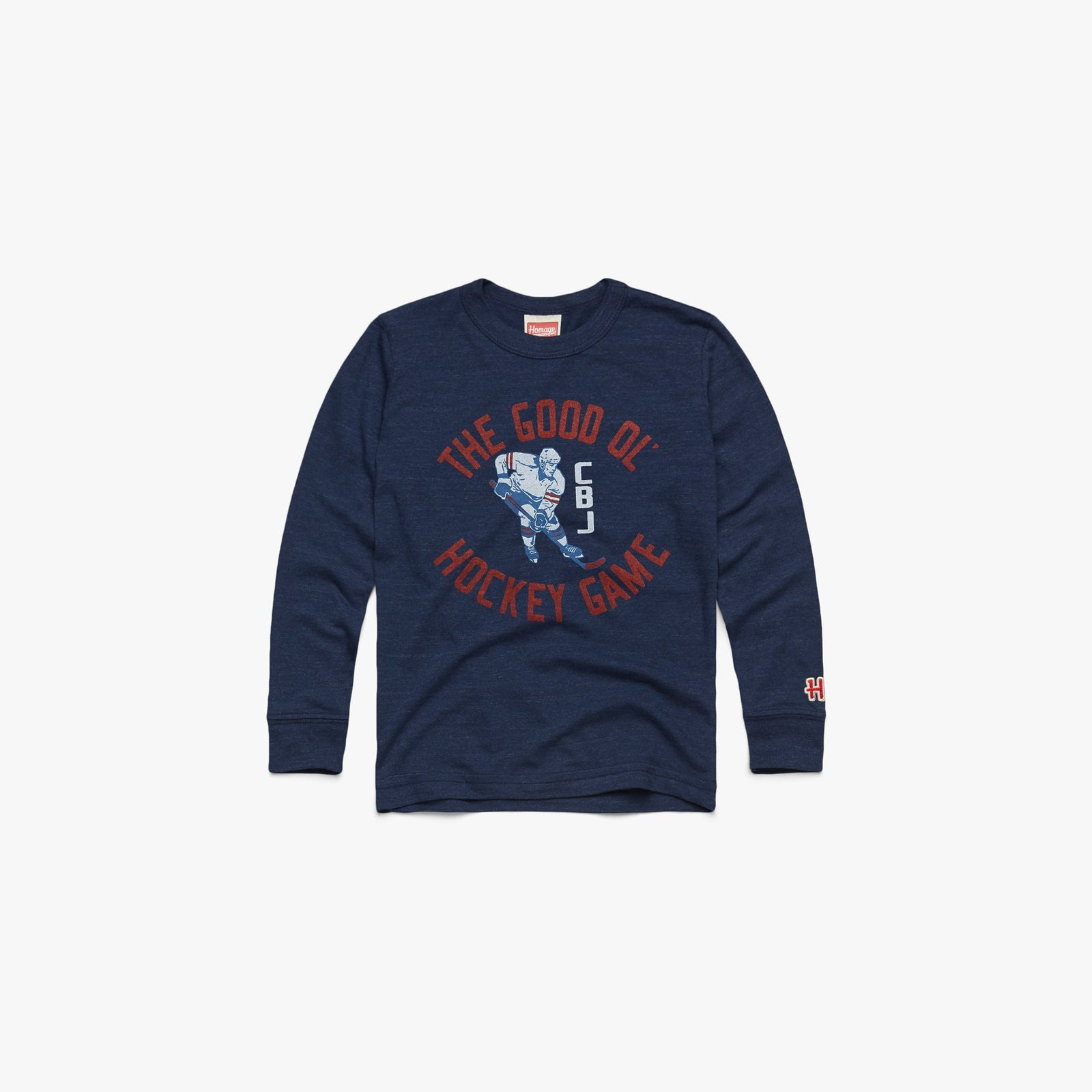 Youth Good Ol' Hockey Game Long Sleeve Tee