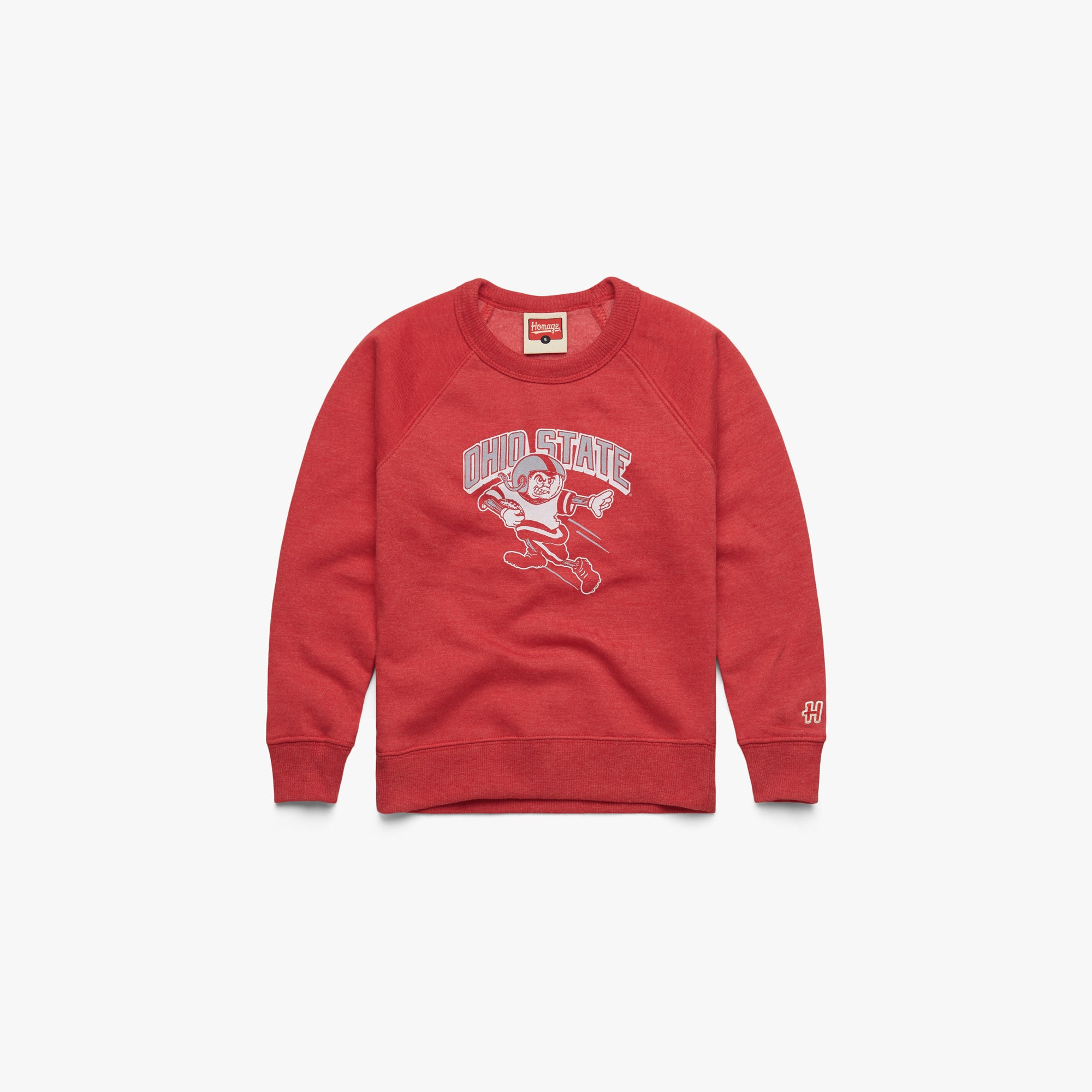 Youth OSU Touchdown Brutus Crewneck