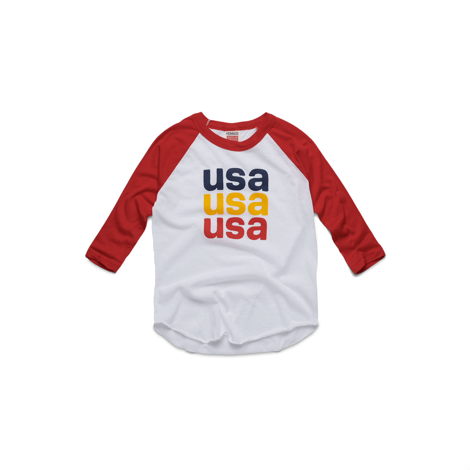 Youth USA One Nation Raglan