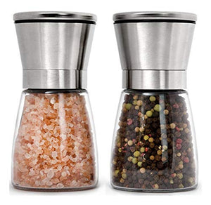 Home EC Salt and Pepper Grinder Set 2pk- Short - Home EC