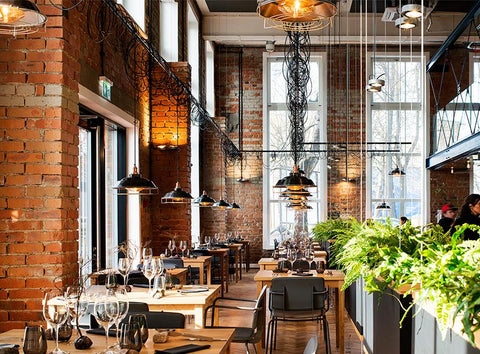 Restaurant Interior Design Lighting Trends