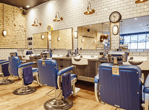 Hairdresser Interior Design Lighting Trends