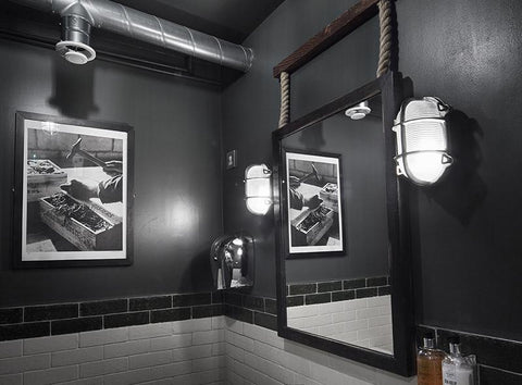 Commercial Washroom Interior Design Lighting Trends