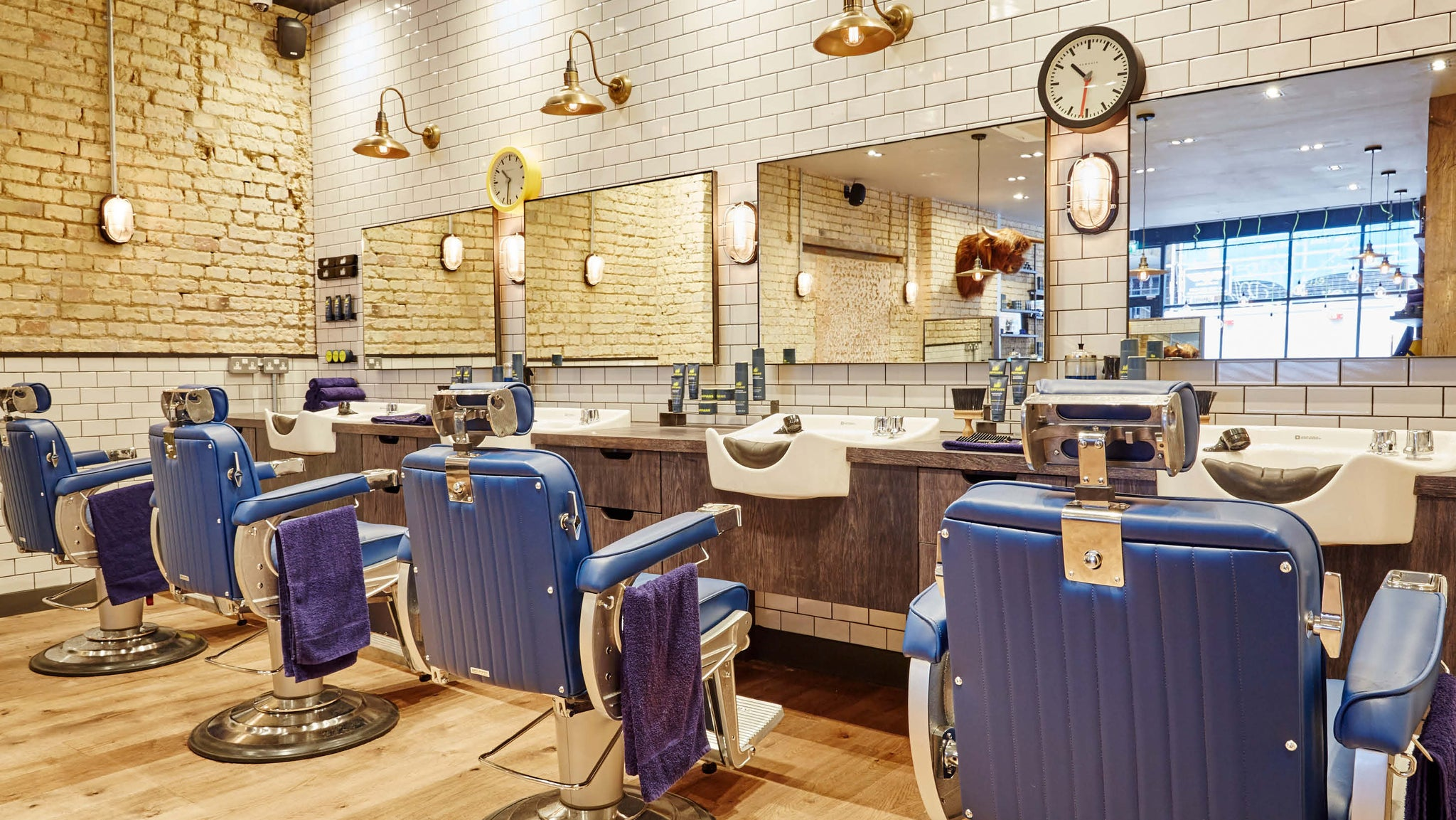 Barbers interior design trends