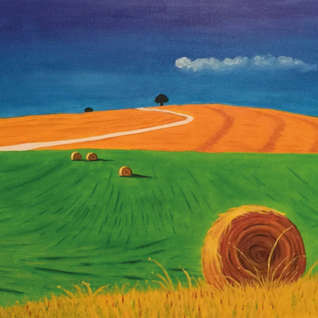 Harvest Time by Maria Georgiades