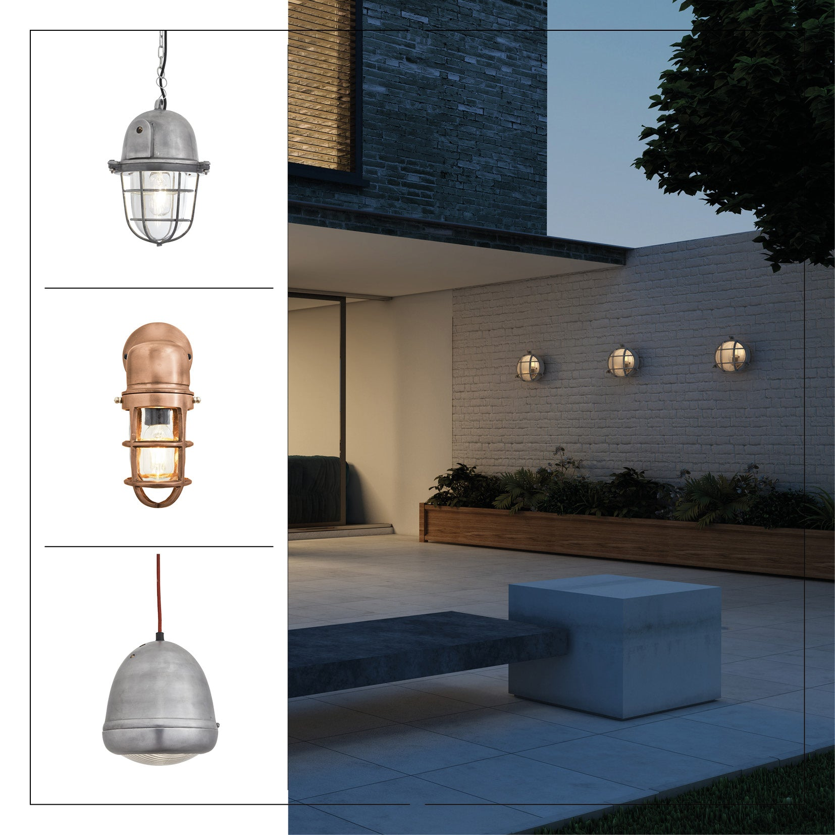 Industrial outdoor lights
