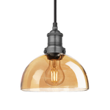 8-Inch_Pendant_Tinted_Glass_Amber_Dome_Pewter_Brooklyn_BR-TGL-DP8-A-PH