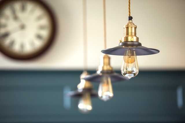 industrial style lights