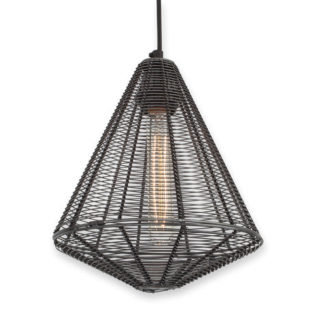 An Angular Lampshade Is A Quick And Easy Way To Modernise Your Bedroom  Lighting. This Black Wire Pendant Shade Is A Masculine And Modern Option  For Any ...