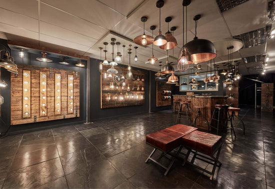 Retro, Industrial Style Lights