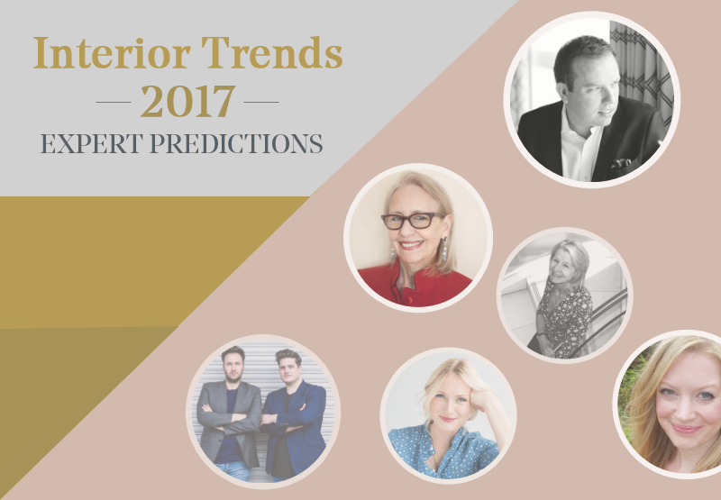 interior design predictions 2017