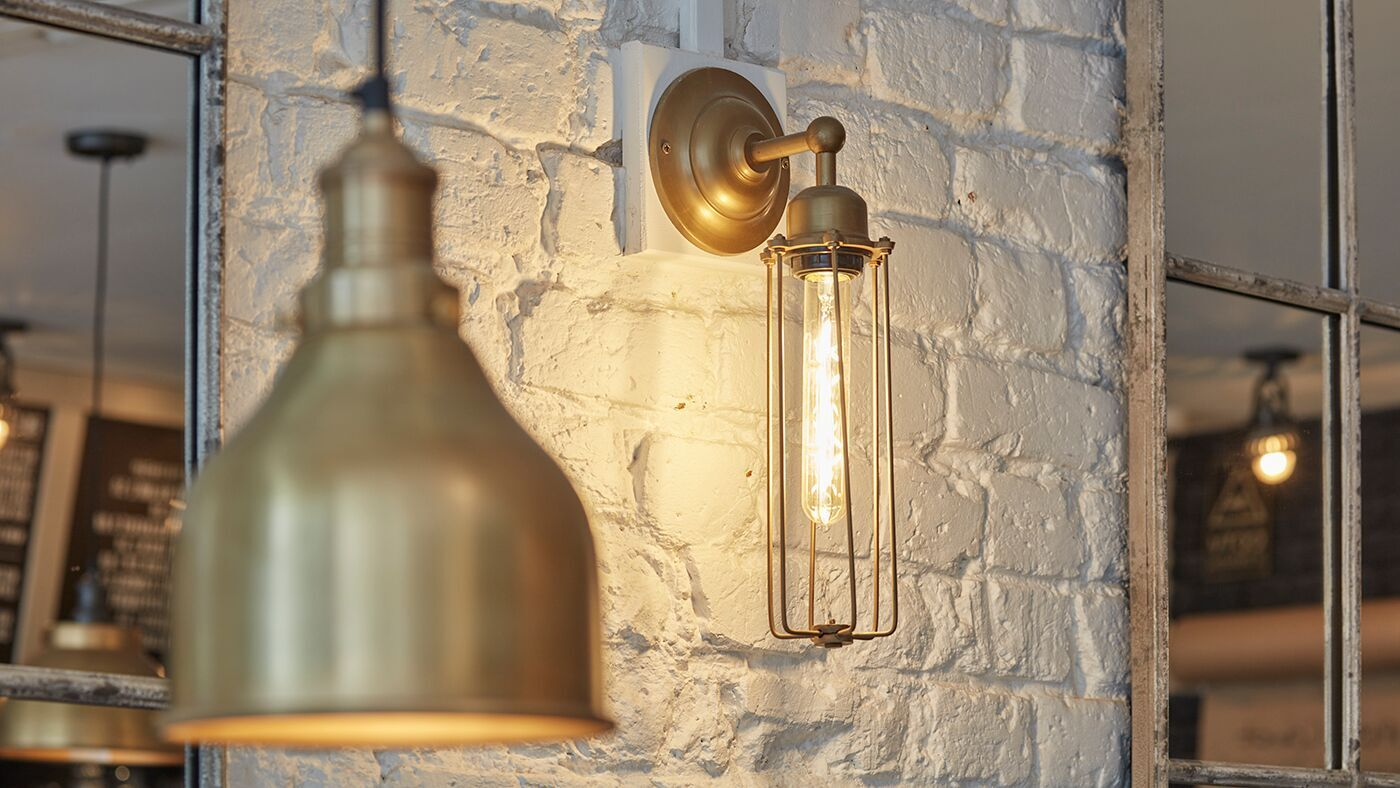handcrafted retro lights