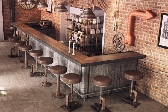 50 Elegant Industrial Style Home Bar Ideas Industville