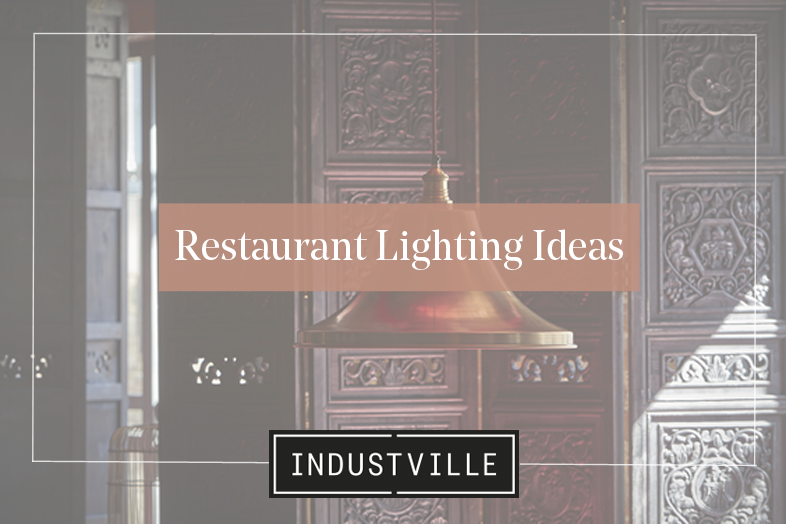 restaurant lighting design ideas