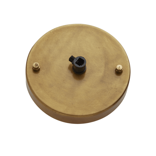 Brooklyn Ceiling Rose - 1 Outlet - Brass
