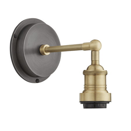 Brooklyn Outdoor & Bathroom Wall Light Holder - Brass