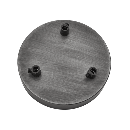 Brooklyn Ceiling Rose - 3 Outlet - Pewter