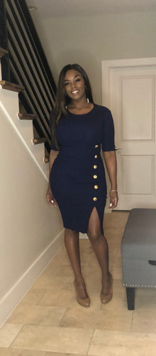 Miss Mac Navy Dress