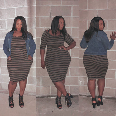 Cassie Curvy Dress