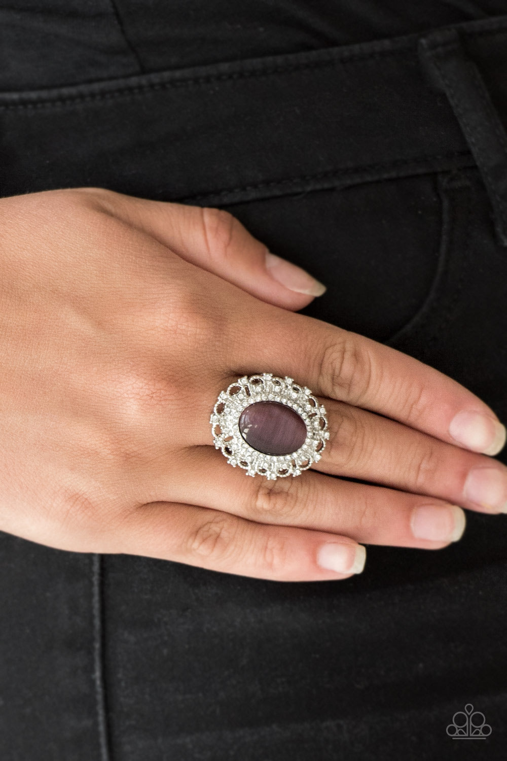 BAROQUE The Spell/ Purple Ring - Jo Glam Boutique