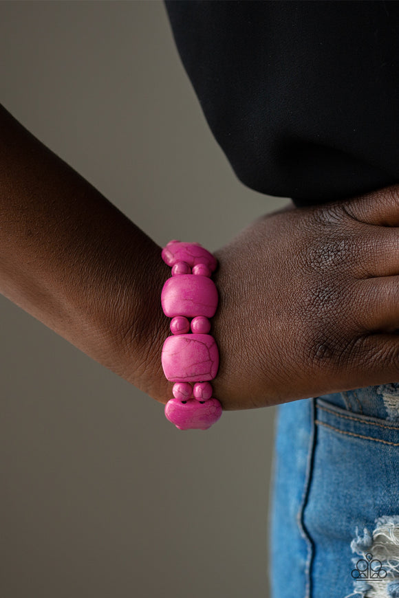 Don't Be So NOMADIC!/ Pink Bracelet - Jo Glam Boutique