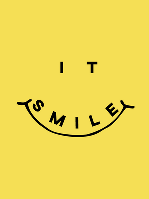 T-shirt It-Smile by Inês Teixeira