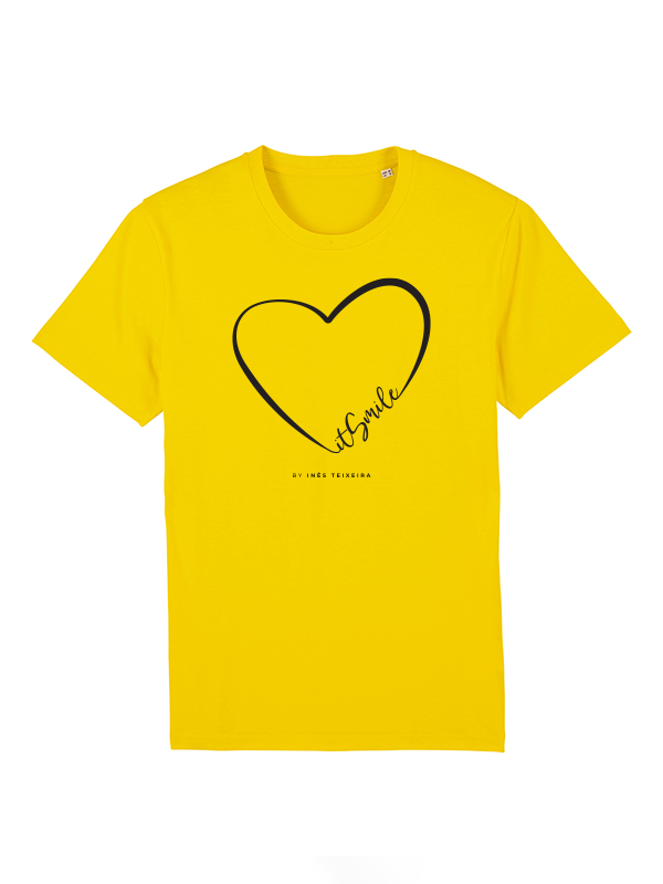 T-shirt love it Smile by Inês Teixeira