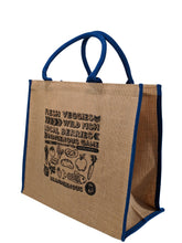 Load image into Gallery viewer, Brandigenous - Jute Grocery Tote