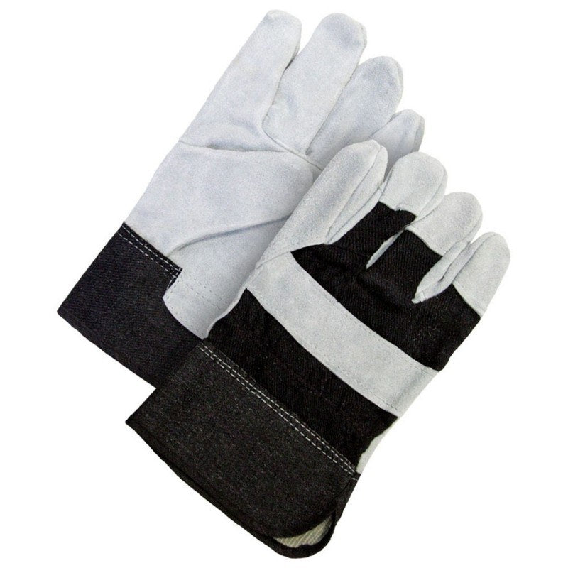 Fitter Glove Split Cowhide Black - Unlined