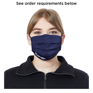 UNISEX PLEATED ECO MASK - 50 Units Printed 1 Color