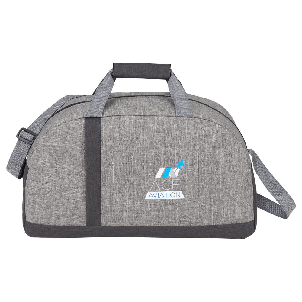 Reclaim Two-Tone Recycled Sport Duffel