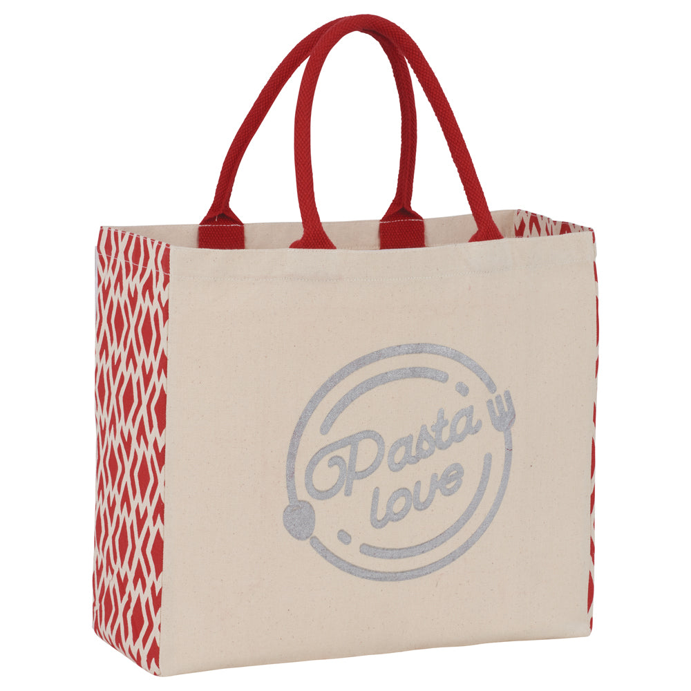 Diamond Gusset Cotton Tote