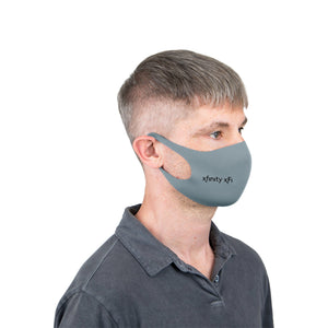 Reusable Stretch Face Mask - 200 Units with 1 Color Print