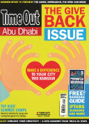 Time Out, Abu Dhabi June 2015 COVER