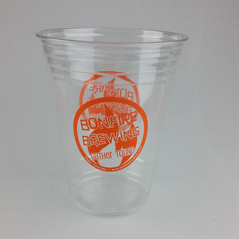 16 oz Bonfire Logo Disposable Cups